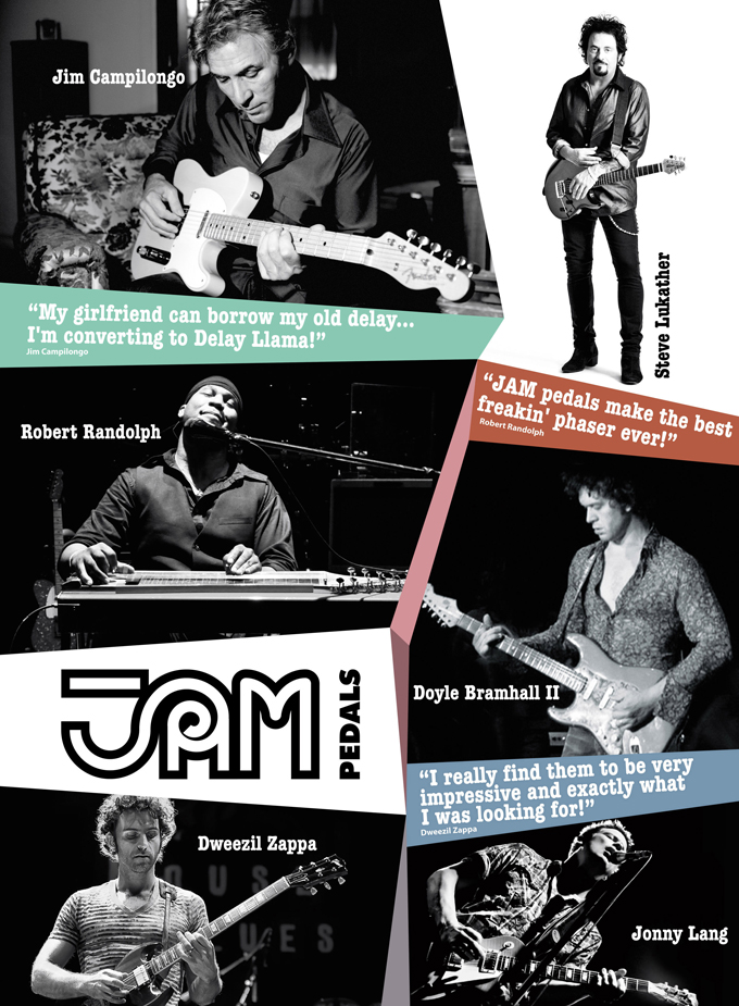 jam pedals poster 1